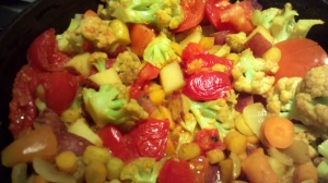 Cauliflower-vegetable Curry