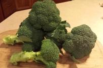 Fall-sweetened broccoli